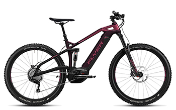 FLYER E Bikes Uproc6 Fullsuspension 410 Heidi aubergineberry (1)